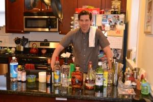 Special guest bartender Matthew