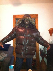 Daveon's awesome winter coat